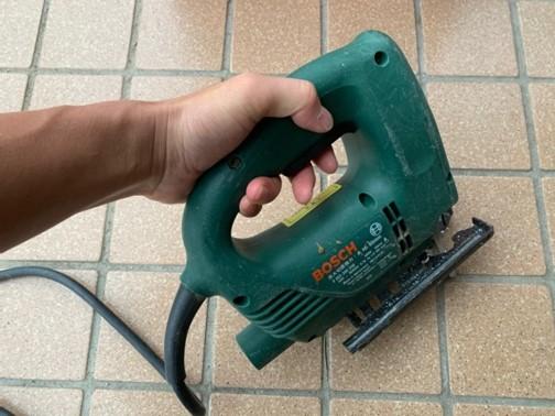 振動障害のリスクがある電動工具③ジグソー