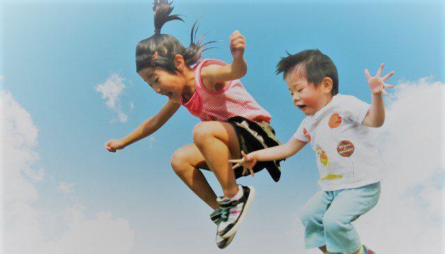 子どもジャンプ